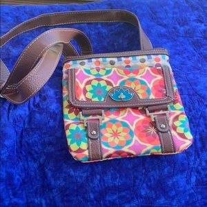 Lily Bloom Crossbody Purse NWOT